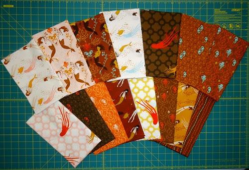 Heather Ross Mendocino Fabric half yards and full yards