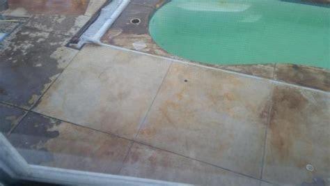 acid stain  patio doityourselfcom community