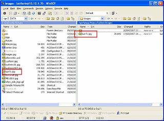 Beberapa waktu yang kemudian aku menginstal Apache Transfer File dari Windows XP ke Linux (Ubuntu)