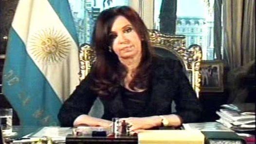"""""""Desde el miércoles siento otra resposabilidad: hacer honor a su memoria y su gobierno"""", dijo Cristina."""