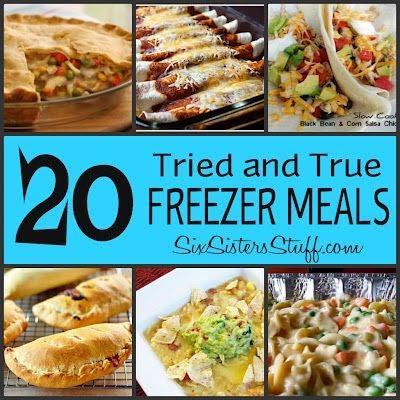 Whole Food Freezer Crockpot Meals