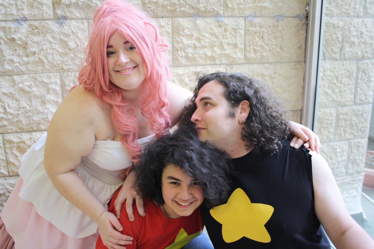 """""""Every time you love being yourself, that's me, loving you, and loving being you."""" Rose: (me) @cupcakegirlcosplay Greg: @potassiumpound Photographer: @weareatgreg"""
