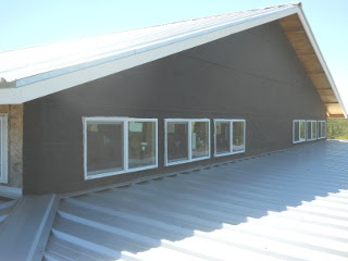 More External Upper West Siding Tar Paper Installed