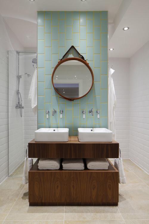 Luxury Loft Apartment Bathroom