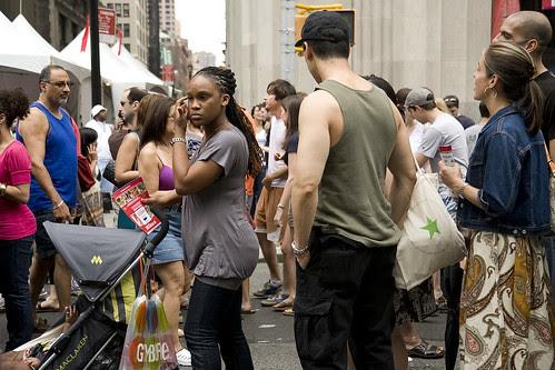 Crowd, 23rd Street