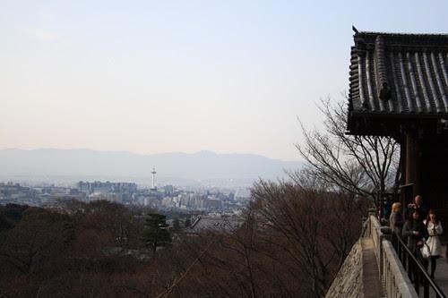 Kyoto city viewed from Kiyomizu temple