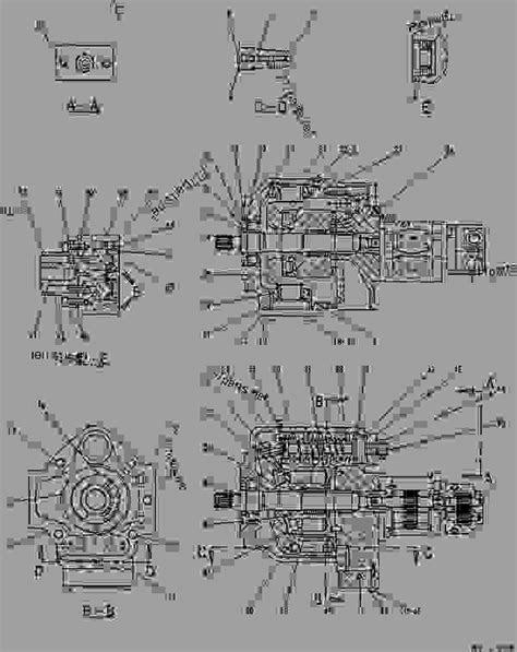 1020783 PUMP GROUP-MAIN HYDRAULIC - EXCAVATOR Caterpillar