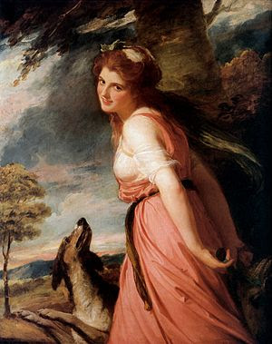Lady Hamilton as a Bacchante.