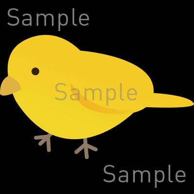 小鳥の無料イラスト素材登録不要のイラストぱーく