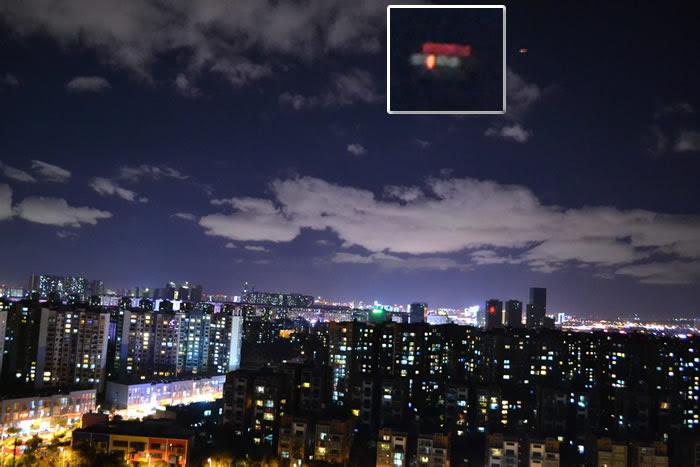 Imagen 2: Objeto aéreo anómalo fotografiado en Kunming, China. 16 de junio (2015). Crédito: MUFON