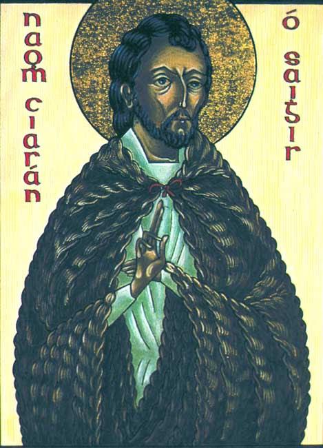 IMG ST. CIARAN, Kieran, Kieman, Kyran, Bishop of Ossory, founder of monastery of Saigir