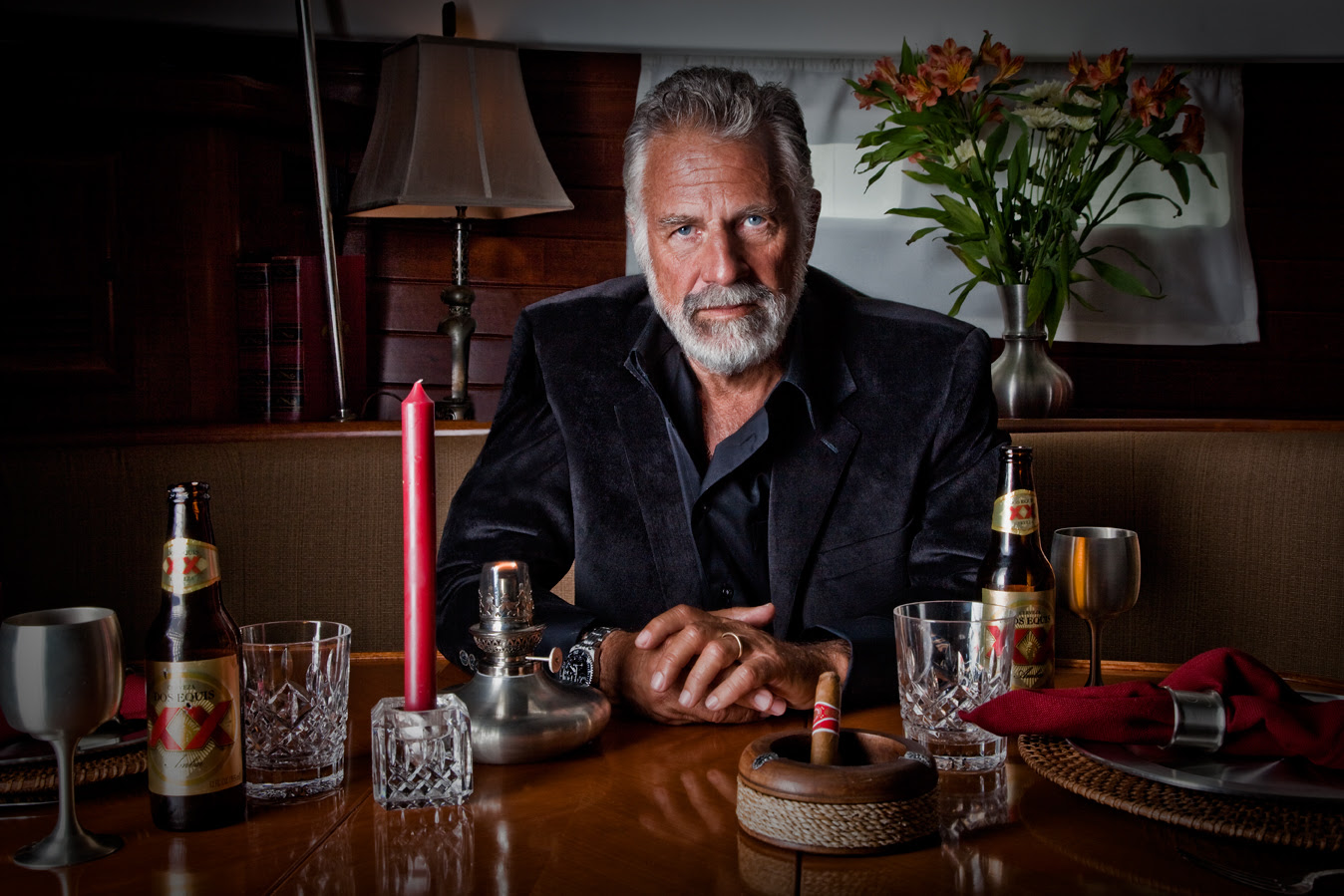 The Most Interesting Man In The World Which Does He Wear
