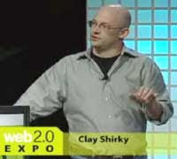 Clay Shirky speaking