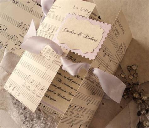 17 Best ideas about Music Wedding Invitations on Pinterest