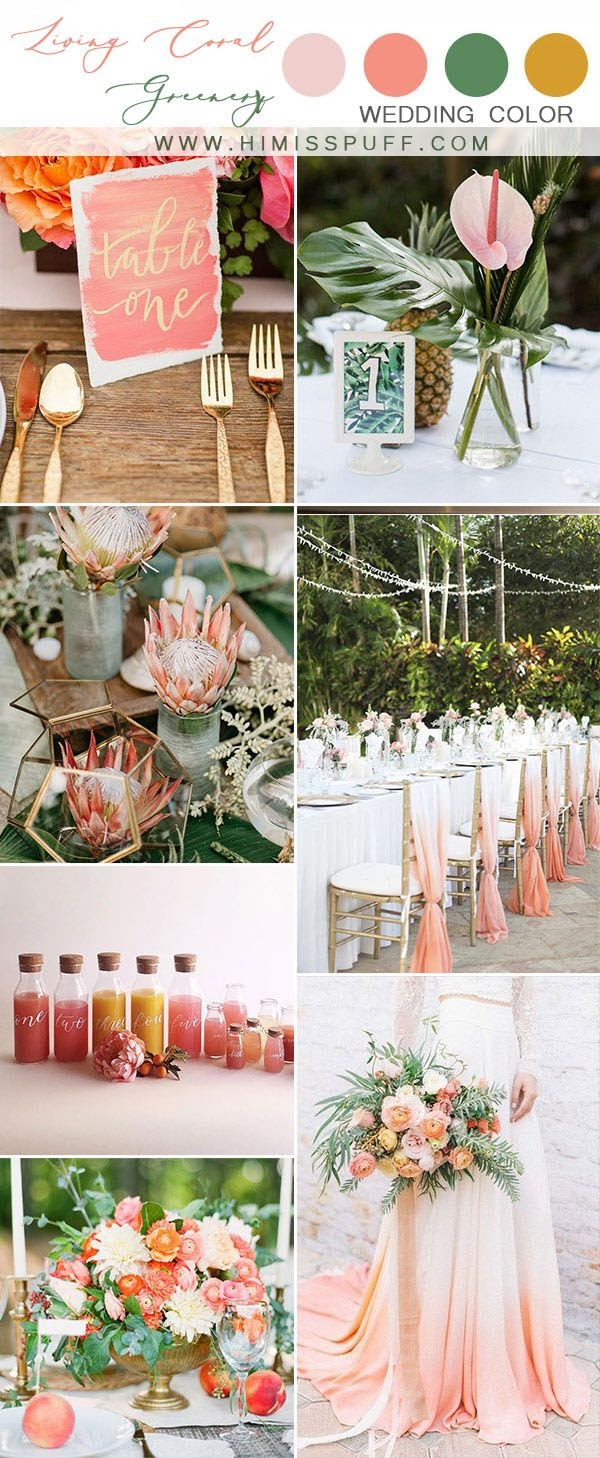 Top 10 Wedding Color Scheme Ideas for 2020