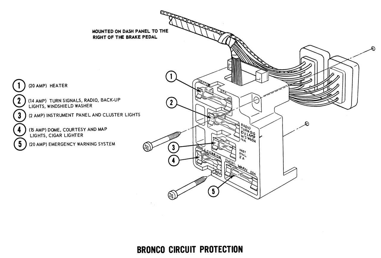 1971 Bronco Wiring Diagrams Ford Truck Fanatics
