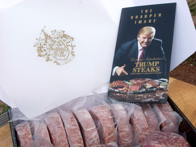 trump-steaks-launched-for-sharper-image-