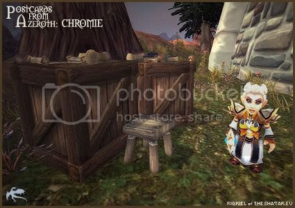 Postcards of Azeroth: Chromie, by Rioriel of theshatar.eu