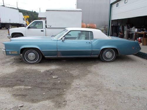Find used 1970 CADILLAC ELDORADO (500 ENGINE -ALL ORIGINAL ...