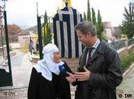 Im Gespräch mit einer griechischen Albanerin