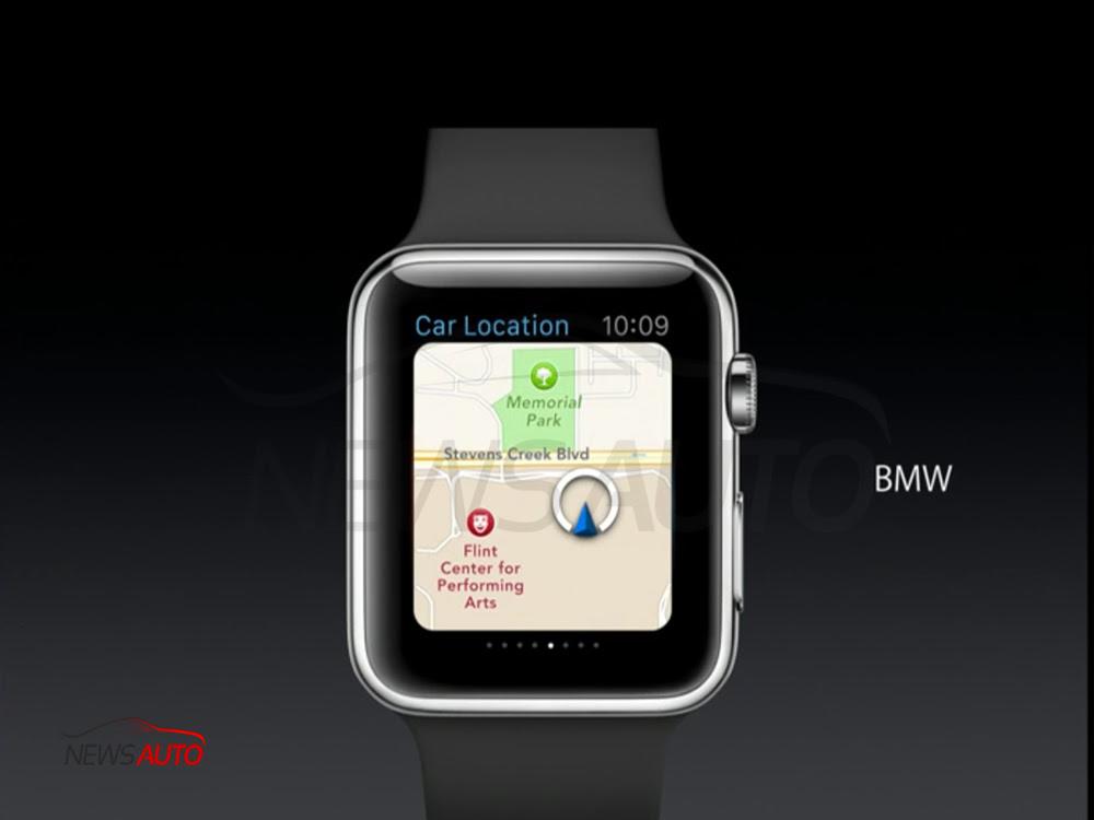 BMW i sur Apple WATCH !  News Auto