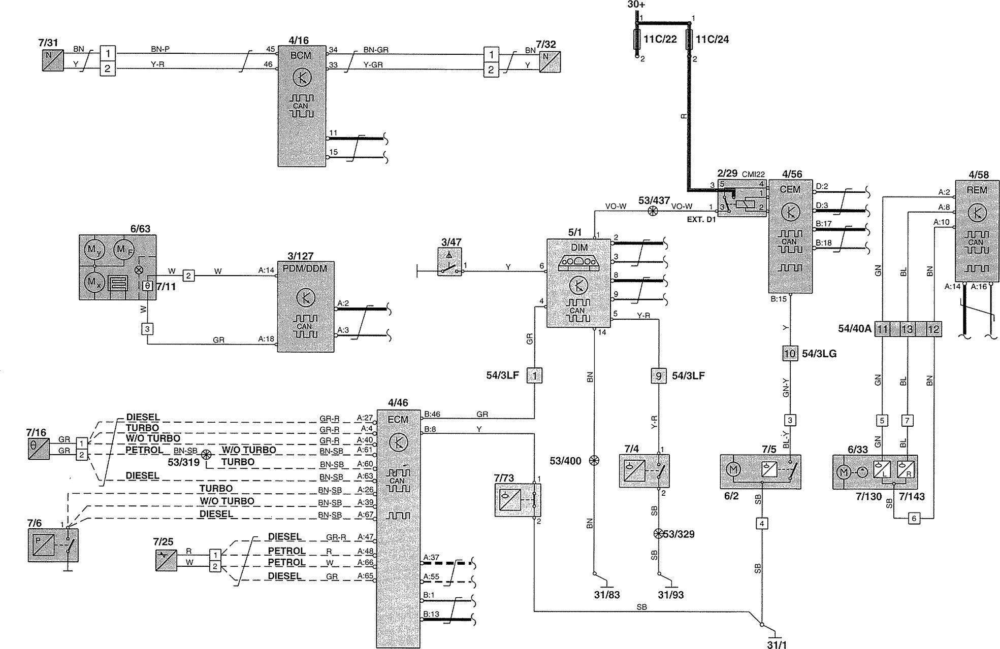 Diagram Wiring Diagram Volvo V70 Full Version Hd Quality Volvo V70 Sitexdoney Fattoriagarbole It