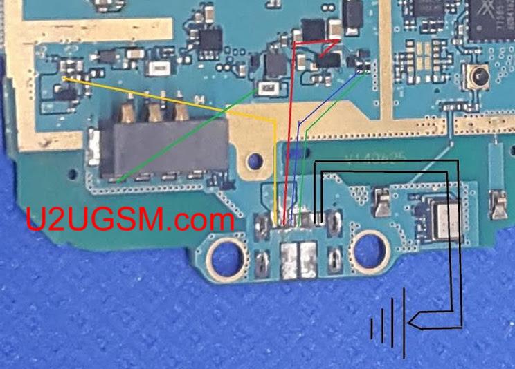 Samsung Galaxy Ace NXT G313H Usb Charging Problem Solution Jumper Ways