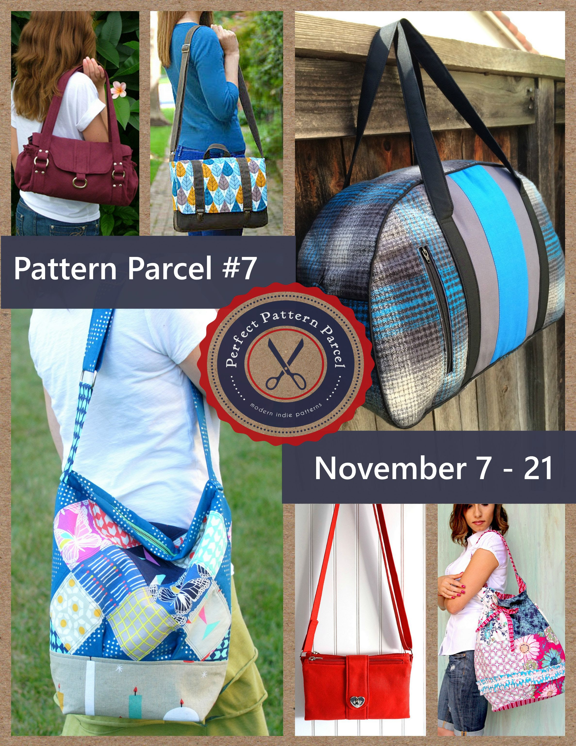 Pattern Parcel #7: Choose your own price and support DonorsChoose. Win/win!