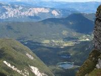 pohled z Mangrtu na italské jezera