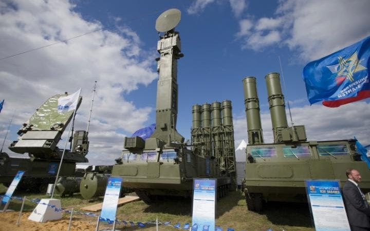 Russia said it had deployed the S-300 VM air defence system to its Tartus naval facility in Syria on Tuesday.