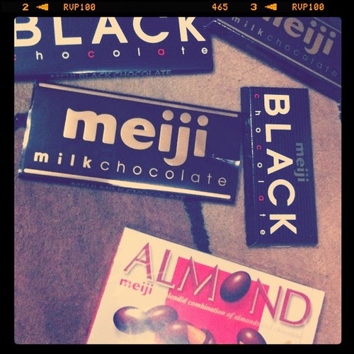 Things I Love: Meiji Chocolates