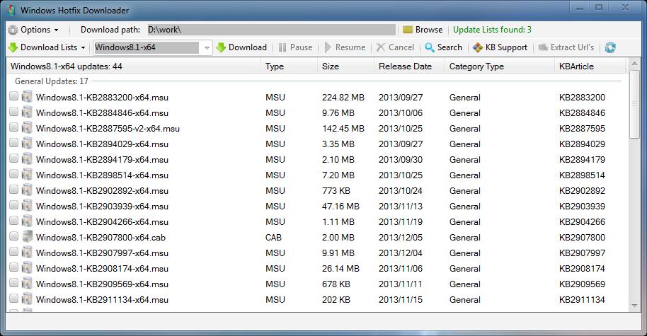 Hotfix Downloader