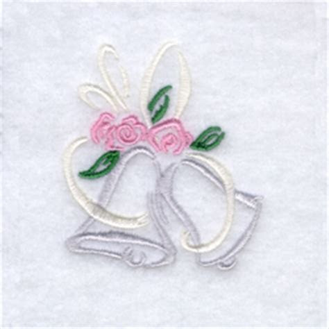 Starbird Inc Embroidery Design: Wedding Bells 2.35 inches