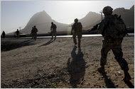 On Patrol in Kandahar