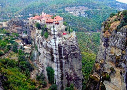 Греция,Фессалия, метеоры