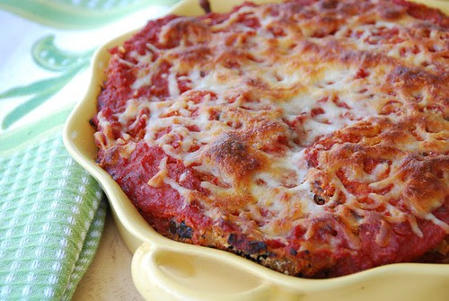 baked epplant parmigiano