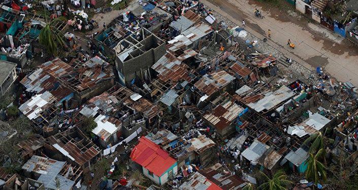 El huracán Matthew que ha azotó el Caribe en los últimos 10 años, provocó la muerte de al menos 108 personas solo en Haití.