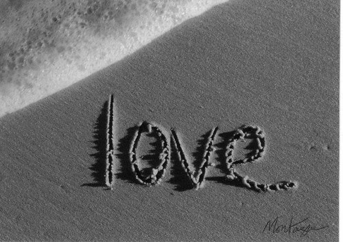 In The Sand Captured By Gorgeous Black And White Photography Love