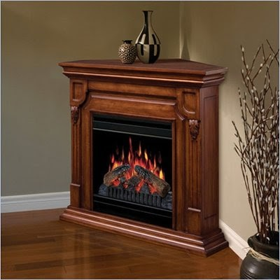CORNER FIREPLACES: FREE STANDING CORNER ELECTRIC FIREPLACE