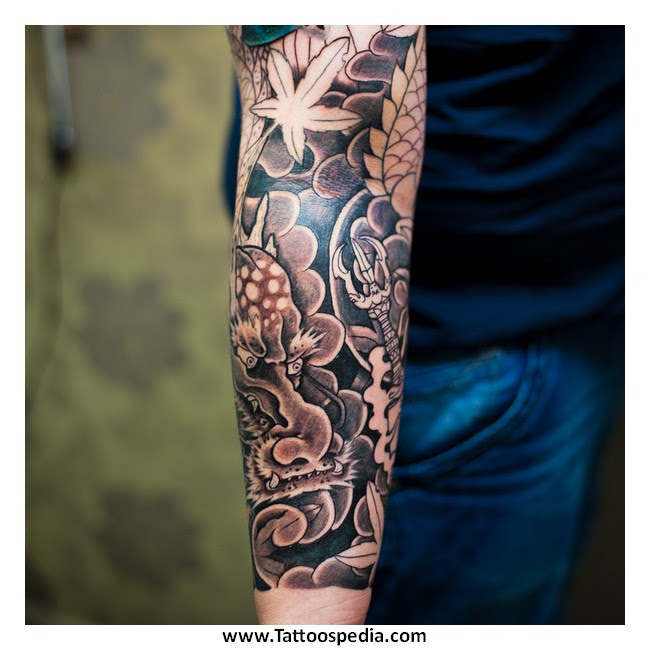 Tattoo Cover Up Black Ink 6