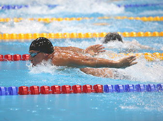 Ryan Lochte of the United States crushed Michael Phelps — and the rest of the field — to win the 400-meter individual medley with a time of 4 minutes 5.18 seconds.