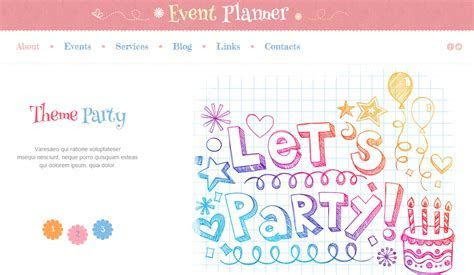 Best Party WordPress Theme and Event Planning Website