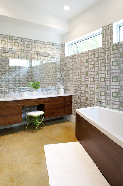 16 Beautiful Mid Century Modern Bathroom Designs That Are Simply