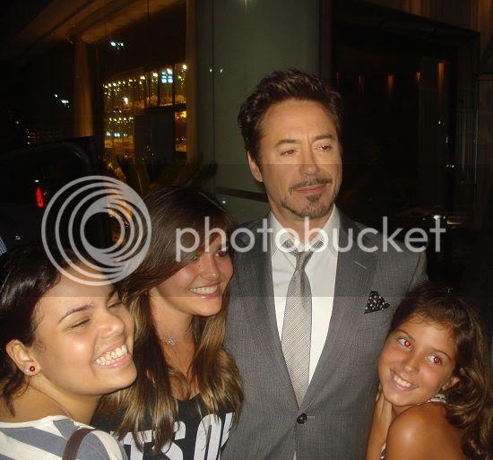 Downey Jr no Rio