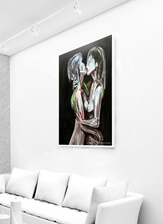 Lesbian Gay Painting