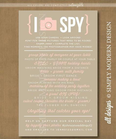 I Spy, Wedding I Spy, Wedding Game, photo hunt, camera