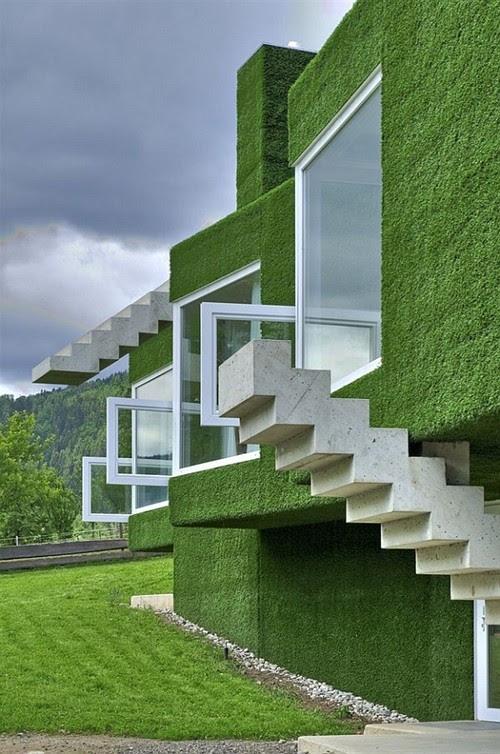 Những ngôi nhà xanh độc đáo trên thế giới | ảnh 7