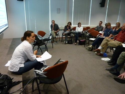 Research presentation accountability
