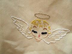 Girl Angel Up Close