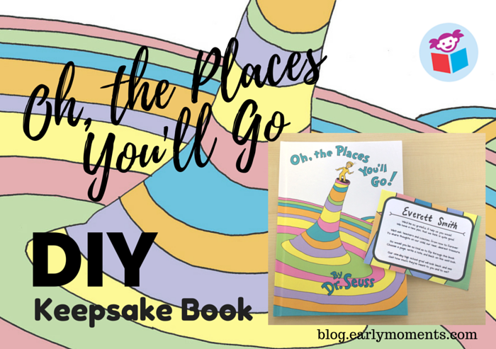 Oh The Places Youll Go Thoughtful Graduation Gift Diy